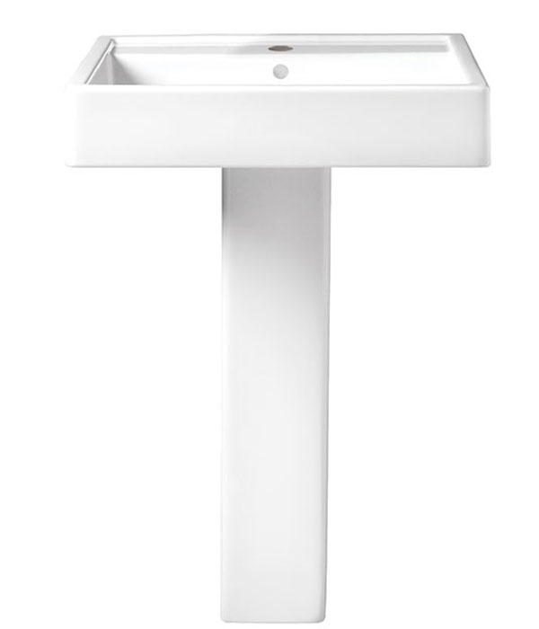 Pedestal Sink - Seagram 24 inch Pedestal Lavatory from DXV