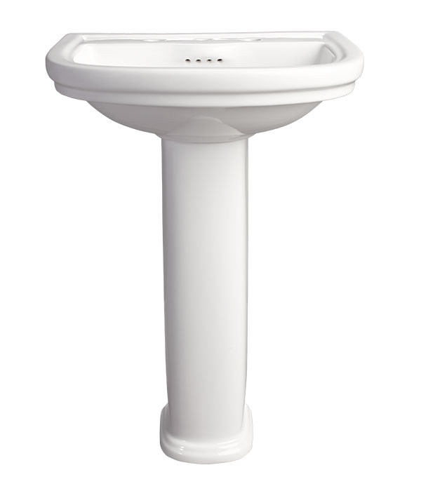 Pedestal Sink - St. George 24 inch Pedestal Lavatory by DXV