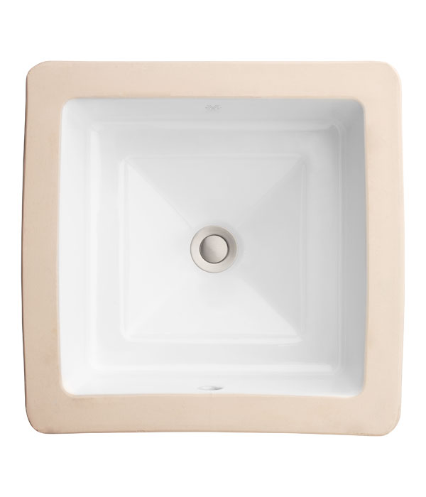 Undermount Bathroom Sink Pop Grande Square Under Counter Lavatory From Dxv