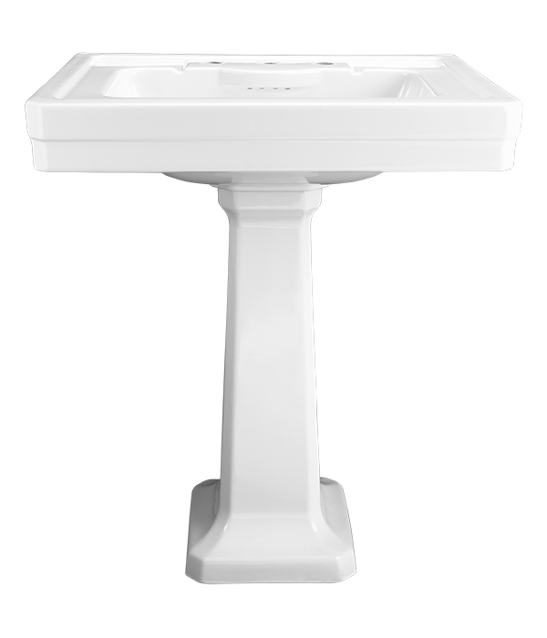 Fitzgerald 28 Quot Pedestal Lavatory From Dxv