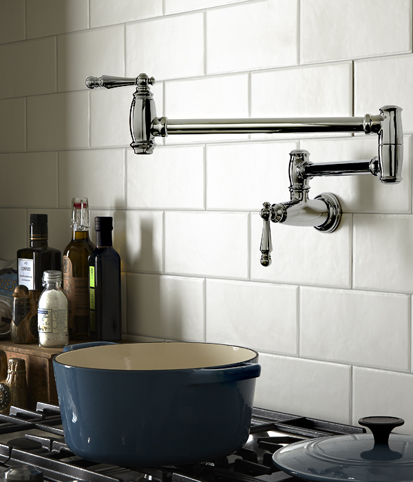Pot Fillers Traditional Pot Filler Kitchen Faucet From Dxv