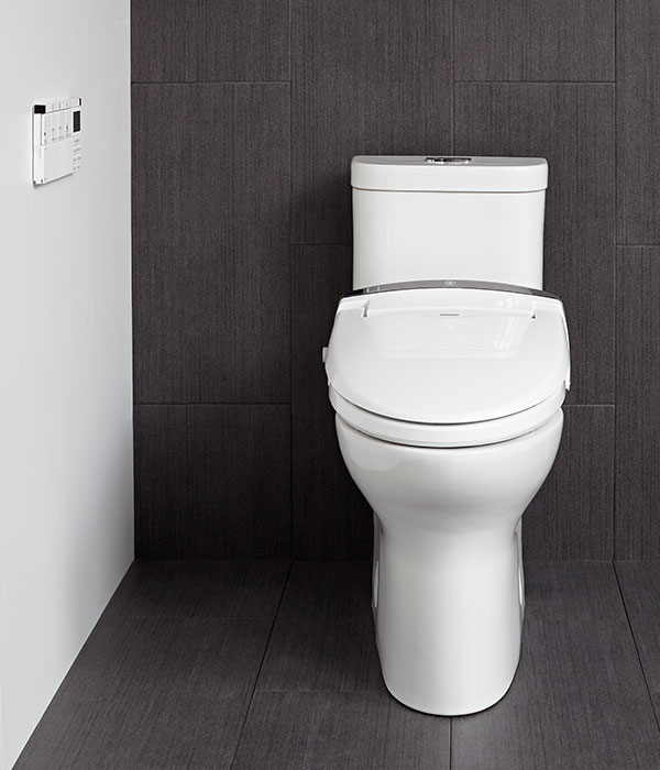 Smart Toilet At100 Luxury Electronic Bidet Seat From Dxv